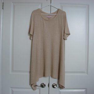 In Every Story Beige Knit Sweater Dress